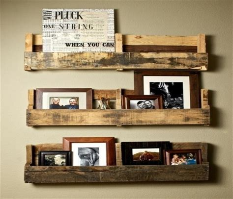 pallets hanging bookshelf ideas pallet ideas recycled