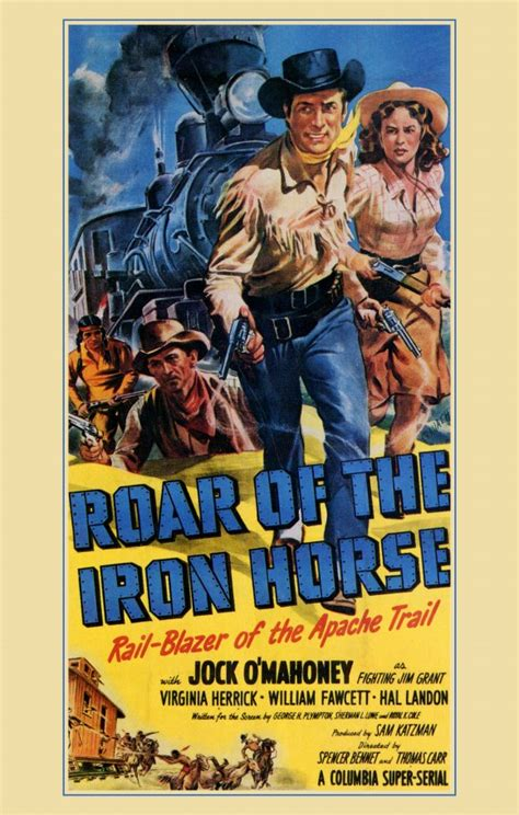 film seri iron horse roar of the iron horse movie posters from movie poster shop