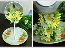 How to DIY Topiary Flower Flying Cup Decor ... Q Cup