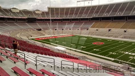 Section 25a by Ohio Stadium Section 25a Rateyourseats