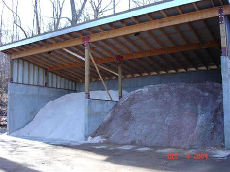 Salt Sheds how to build a box from pallets salt storage building plans