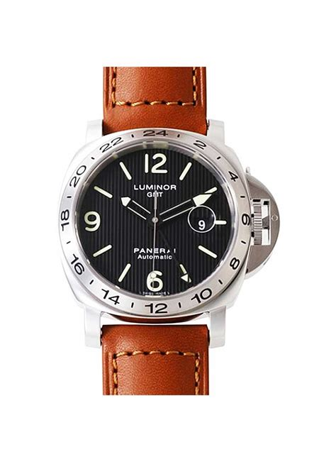 Luminor Panerai Gmt Black Premium pam 00029 panerai gmt 44mm steel essential watches