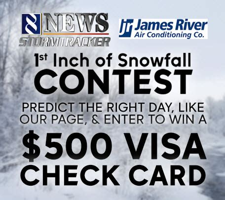 First Tennessee Visa Gift Card - wric promotion win a 500 visa gift card james river air conditioning company