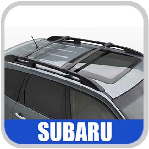 Subaru Factory Roof Rack 2009 2011 subaru forester roof rack crossbar set oem aero