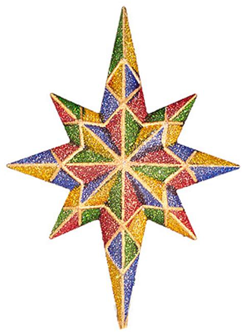 multi colored star tree topper multi colored bethlehem tree topper ebay