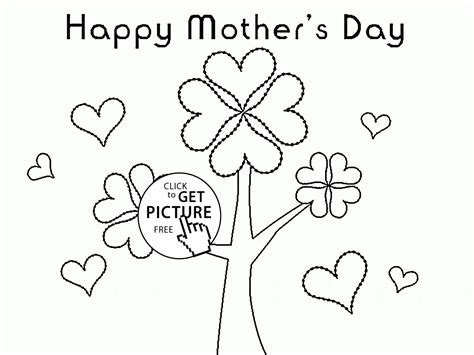 coloring pages of flowers for s day flowers tree for s day coloring page for