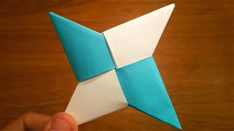 How To Make Paper Throwing - how to make a paper shuriken origami