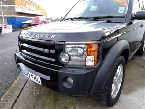 land rover discovery 2007 2007 land rover discovery 3 2 7tdv6 xs mov youtube