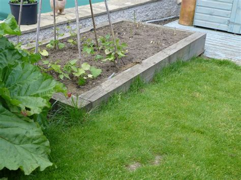 Sleepers Nottingham by New Railway Sleeper Raised Beds In Nottingham Open Gardens