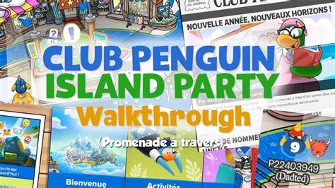 club penguin hollywood party walkthrough youtube club penguin island party walkthrough youtube