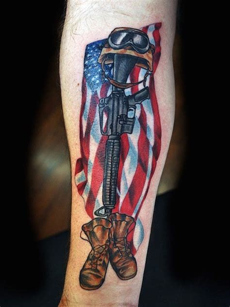 veteran tattoo designs beautiful tattoos that show freedom and bravery