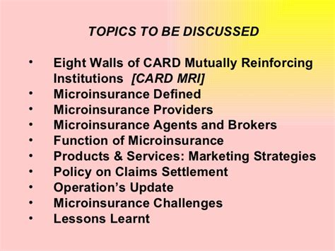 Mb2 Marketing Functions Producers Mba Research by Card Mba Challenges In Marketing Microinsurance Products