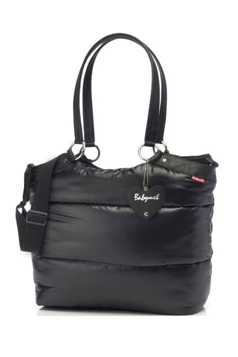 babymel camden carry all bag in black
