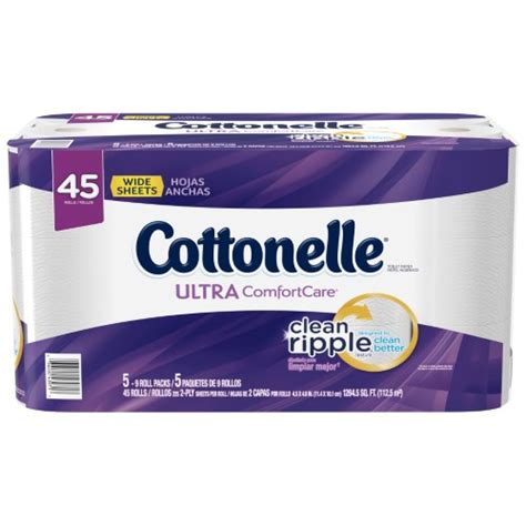 cottonelle ultra comfort care cottonelle ultra comfort care jumbo roll toilet paper 45