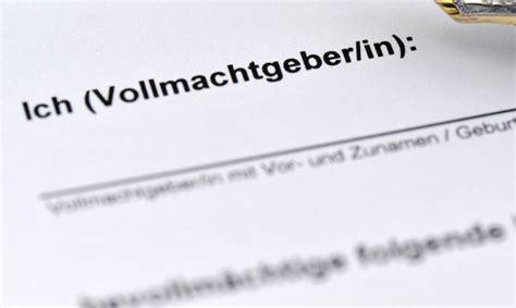 Auto Ummelden Kosten Sachsen by Inhaltsverzeichnis Vollmacht Muster