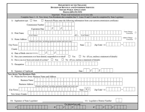 new york county clerk notary section new jersey notary public application form notary public near me