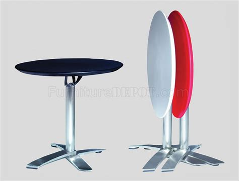 Folding Bar Table Black Or White Folding Bar Table