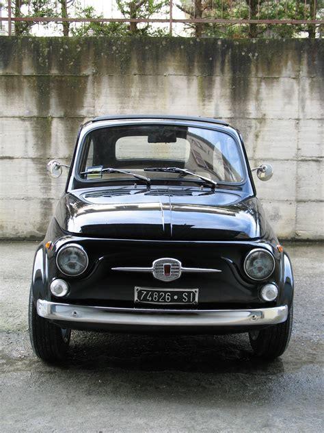 fiat 500 for sale 3000 1967 fiat 500 110f model l luxury black for sale