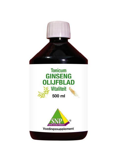 Ginseng Per Ons snp ginseng olijfblad tonicum
