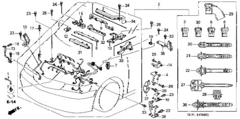 honda odyssey parts diagram honda store 2001 odyssey engine wire harness parts