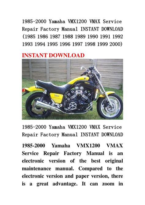 service manual free download to repair a 1986 mitsubishi cordia 1986 mitsubishi cordia 1985 2000 yamaha vmx1200 vmax service repair factory manual instant download 1985 1986 1987