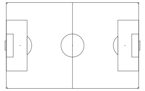 soccer pitch template soccer field clip at clker vector clip