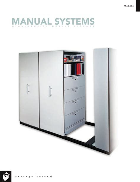 Saver Mobil 3a 1 mobile shelving modes of operation mobile system controls
