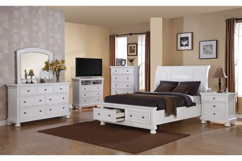 bedroom sets peter white queen bedroom set