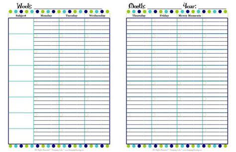 printable homeschool student planner student planner printable calendar template 2016
