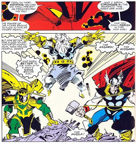 the 10 most awesome moments in walter simonson s thor