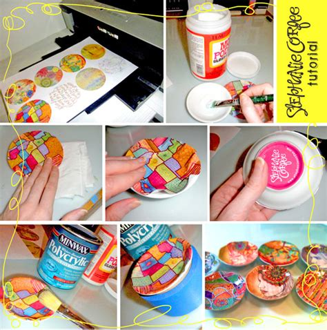 tutorial de decoupage en español decoupage trinket trays decoupage pinterest
