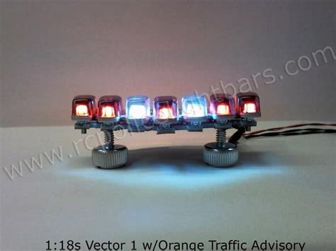 Vector Led Light Bar 118s Vector1 Rwr