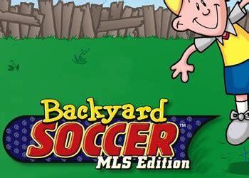 backyard soccer mls edition backyard soccer mls edition дата выхода системные