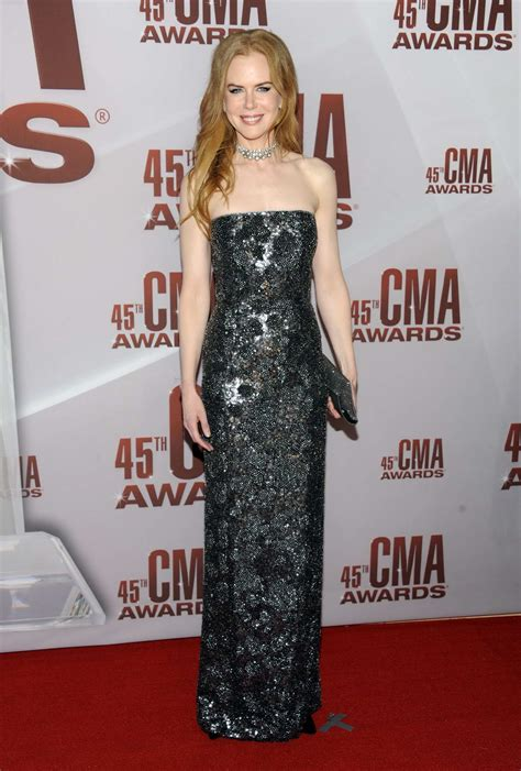 Cma Awards Kidman by Kidman Arrives At 45th Annual Cma Awards In