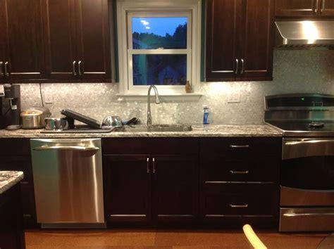 cool espresso kitchen cabinets espresso kitchen cabinets sleek cool designs interior