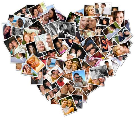 Handmade Photo Collage Ideas - original thoughtful touching valentine s day idea
