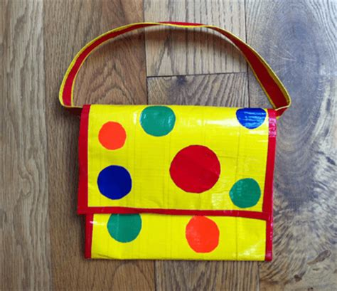 Mr Tumble's Spotty Bag   Duck Tape Colours : Duck Tape Colours