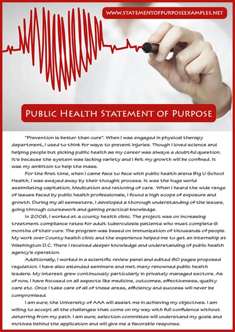 Mba Mph Careers by How To Write Health Statement Of Purpose Sle