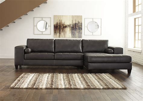 charcoal sectional with chaise ivan smith nokomis charcoal right facing corner chaise