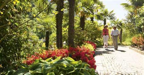 giardini con palme a merano nei giardini di sissi per un itinerario