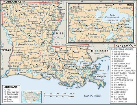 Louisiana Records Historical Facts Of Louisiana Parishes