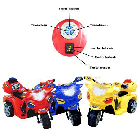 Mainan Motor Aki Halilintar Anak mainan motor aki anak murah mainan oliv