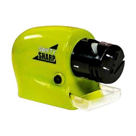 Swifty Sharp Electric Sharpener Pengasah Pisau Elektrik Green jual sharp swifty electric sharpener harga
