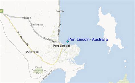 port lincoln australia tide station location guide
