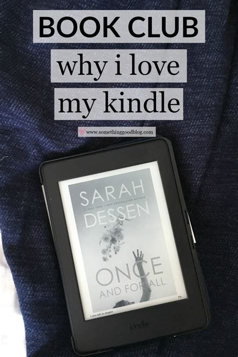 The Sunday Book Club by Sunday Book Club Why I My Kindle Something
