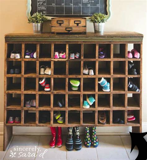 shoe storage cubbies 10 shoe storage ideas to keep you sane