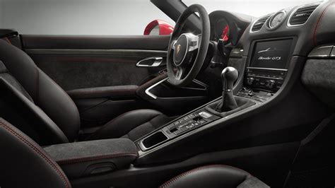 2015 porsche boxster interior automotivetimes com porsche cayman and boxster gts set