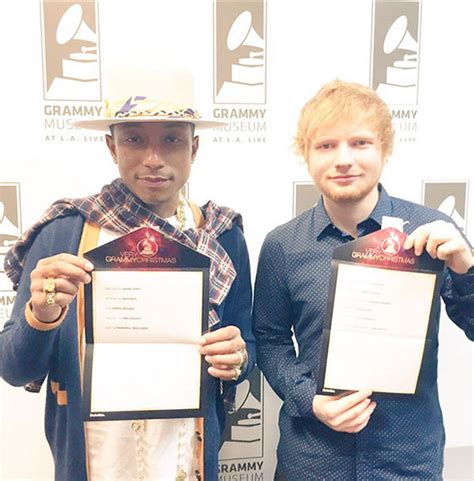 Magazines Grammy Nominations by Brits Ed Sheeran And Sam Smith 2015 Grammy Nominations