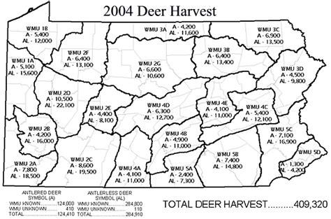 pa wmu map 2004 05 deer wmu map