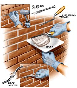 Chimney Mortar Cap Repair - brick and masonry repairs sweepmasters professional